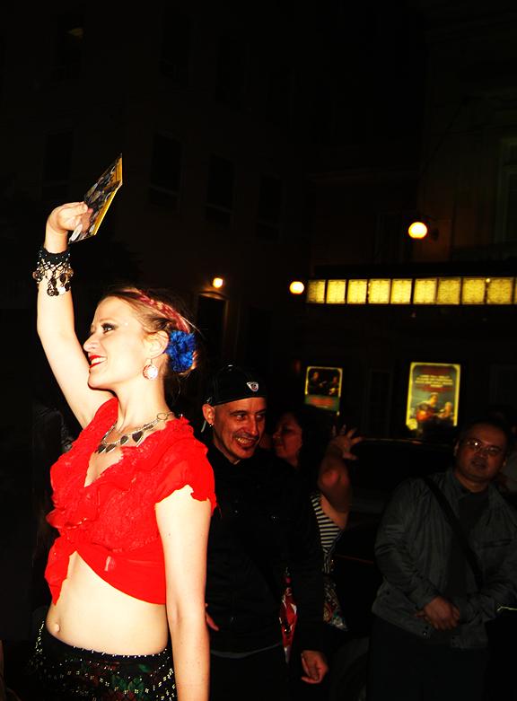 Lemon Bucket   Orkestra performing on the street after Luminato 2012.