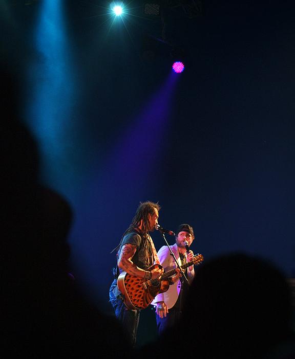 Michael Franti & Spearhead performing at Luminato 2012 with Jovanotti