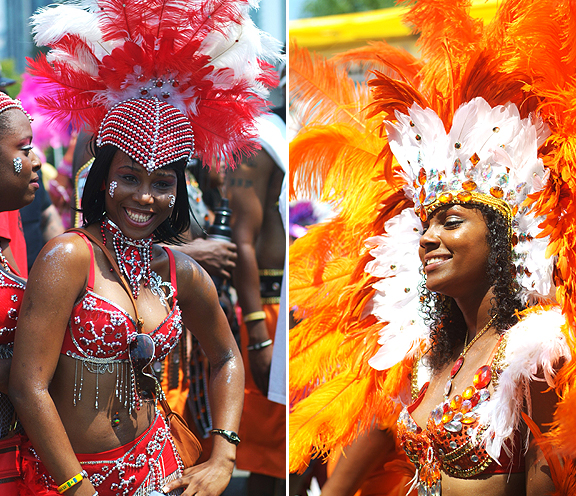 Dancer at Caribana.