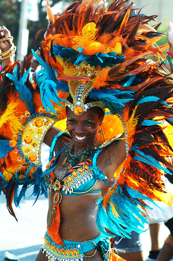 Dancer at Caribana.