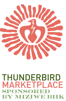 Logo that says Thunderbird Marketplace